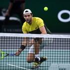 Tennis, Parigi-Bercy: Berrettini subito fuori