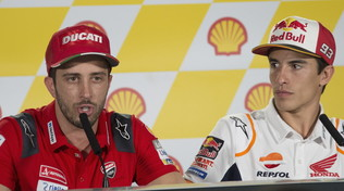 """Dovi non si dà pace: """"Non so come fermare Marquez"""""""