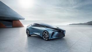 Lexus LF-30: tutto il lusso dell'elettrico