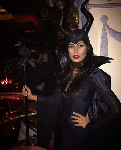Federica Nargi, moglie di Matri (Maleficent)
