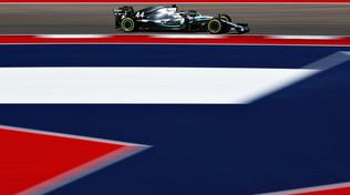 Hamilton in Texas per il titolo