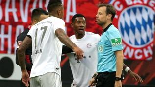 Il Bayernprende 5 schiaffi, fuga Gladbach e sorpasso Dortmund