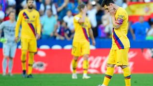Barça, un ko indolore: Real e Atletico sprecano la chance sorpasso