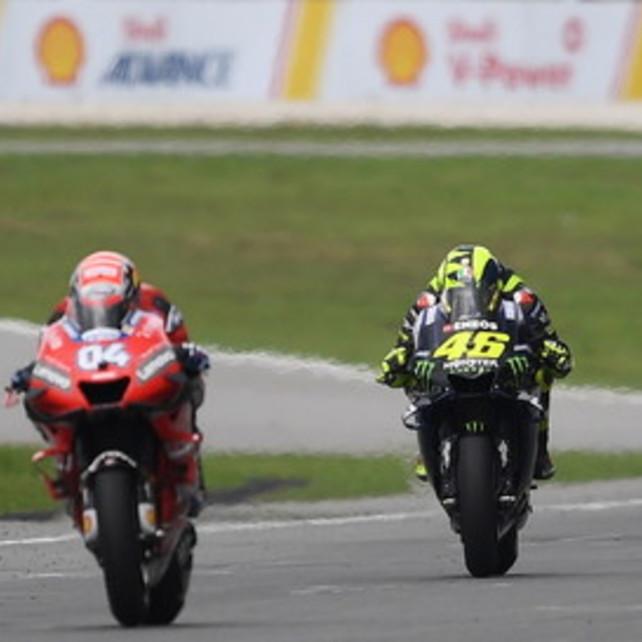 """Rossi: """"Peccato per il podio, ma che lotta con il Dovi"""""""