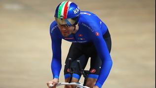 Ganna orgoglio azzurro,record del mondo su pista nell'inseguimento