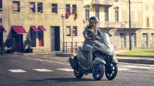 Con il Tricity 300 Yamaha eleva la mobilità urbana