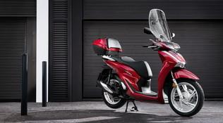 Il nuovo Honda SH è ancora più confortevole