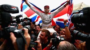 """Hamilton: """"Titolo per Lauda, spero di ispirare i bambini"""""""