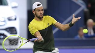 I mostri sacri Federer e Djokovic per Berrettini