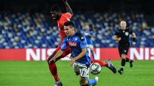 Champions League, Napoli-Salisburgo 1-1: le foto del match