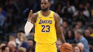 LeBron è super, i Lakers fanno 6 su 6| Bene Gallinari, Belinelli ko