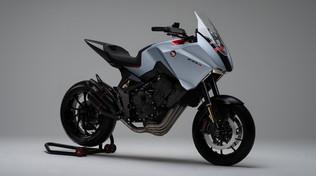 CB4 X, la concept Honda dal design unico