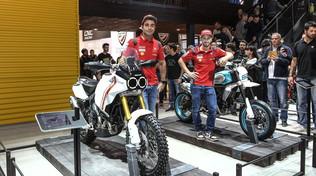 Desert X e Motard: le Scrambler Concept di Ducati