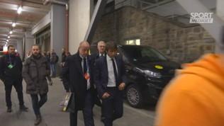 Inter, Conte lascia Dortmund scuro in volto