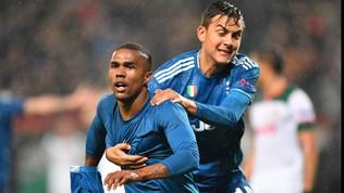 Douglas Costa affonda la Lokomotiv al 93': Juventus agli ottavi di finale