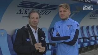 """Immobile: """"I miei 100 gol merito di tutti"""""""
