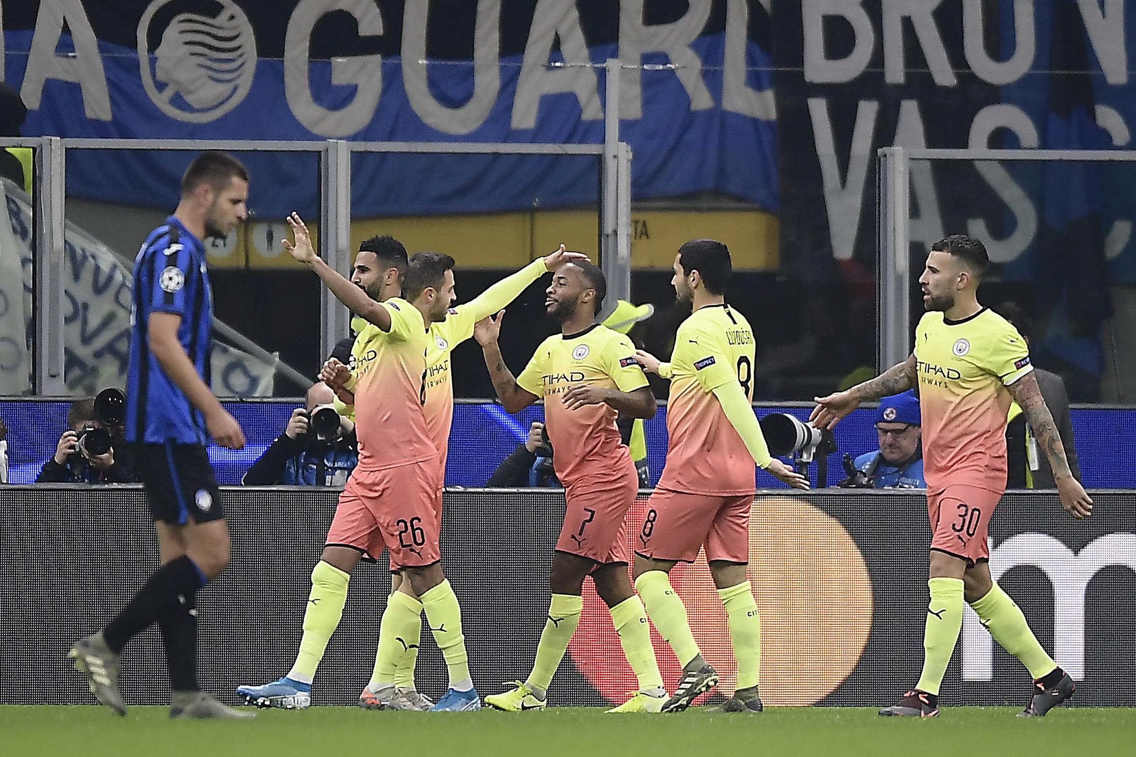 Le migliori immagini dela sfida di San Siro tra le squadre di Gasperini e Guardiola