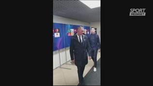 Cristiano Ronaldo, selfie e autografi dopo il Lokomotiv