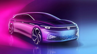 ID. Space Vizzion: la shooting brake elettrica di Volkswagen
