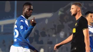 """Balotelli, attacco dagli ultrà del Brescia: """"Arroganza ingiustificabile"""""""