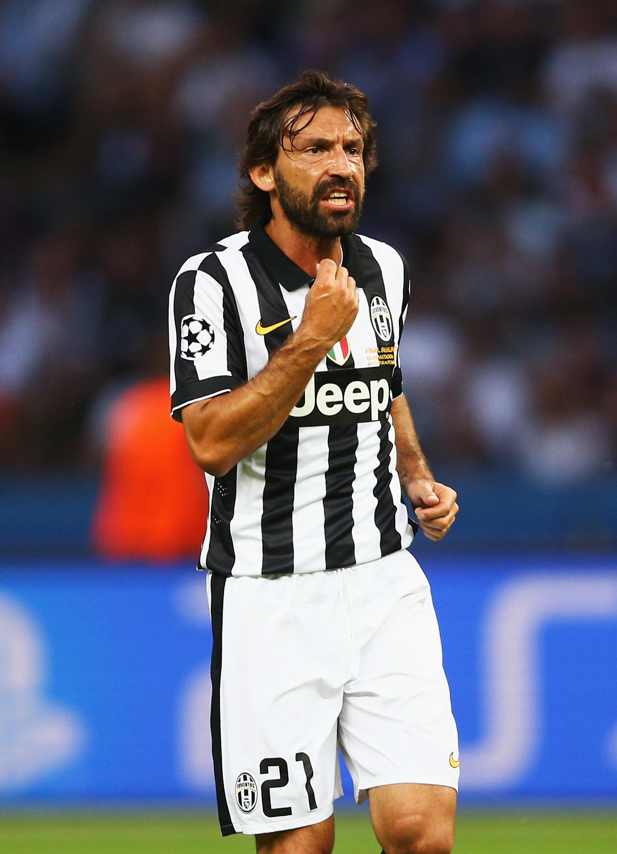 Andrea Pirlo: Milan 2001-11, Juventus 2011-15