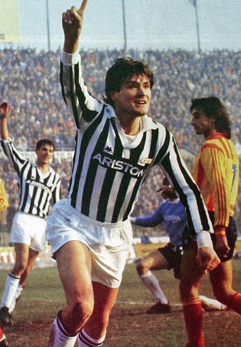 Aldo Serena: Milan 1982-83 e 1991-93, Juventus 1985-87