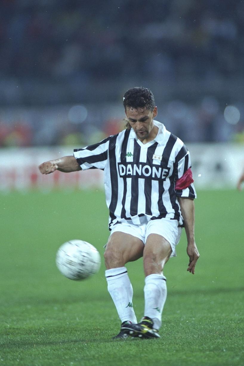 Roberto Baggio: Juventus 1990-95, Milan 1995-97