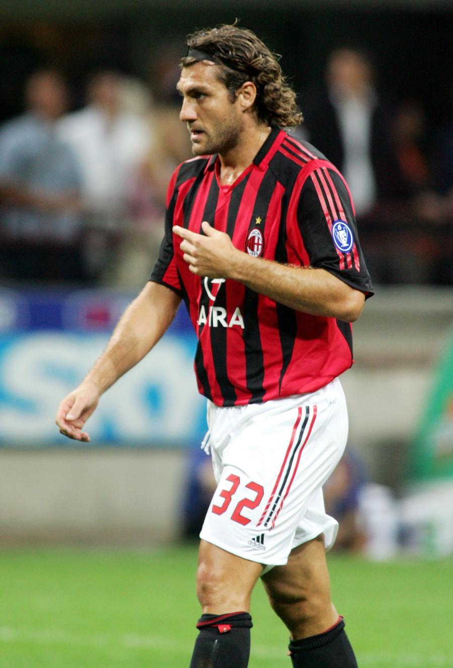 Christian Vieri: Juventus 1996-97, Milan 2005-06