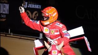 Gina, omaggio a papà Schumi e alla Ferrari a Fieracavalli