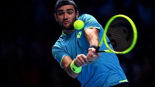 Berrettini non può nulla conDjokovic, Thiem abbatte Federer