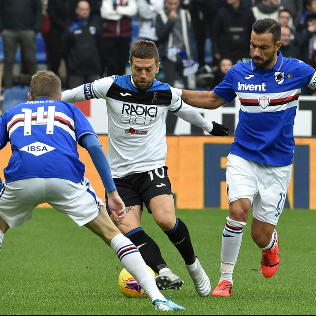 Serie A, Sampdoria-Atalanta 0-0:Ranieri raggiunge ilGenoa
