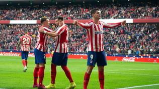 L'Atletico ribalta l'Espanyol: terzo assieme al Siviglia