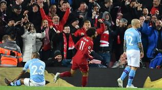 Tris Liverpool, Guardiola cacciato a -9