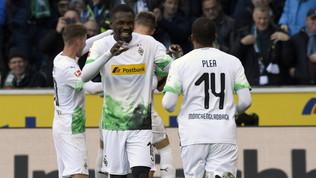 Il M'Gladbach batte il Werdere consolida la vetta