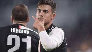 Dybalaè il jolly di Sarri: la Juve torna prima