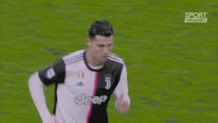 """Juventus, Ronaldo""""sostituito: dritto negli spogliatoi"""