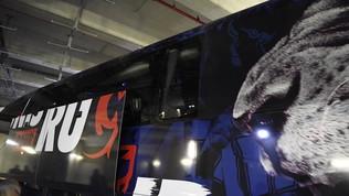 Paura Lione, bus preso a sassate dagli ultrà del Marsiglia