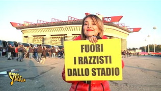 """Rajae dai tifosi di Inter e Verona: """"Fuori i razzisti dallo stadio"""""""