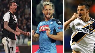 Il Milan soffre del mal di gol:Mandzu, Mertens o Ibrala cura