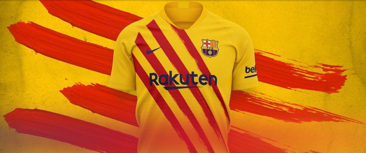 Per la prima volta nella storia il Barcellona affronterà la stagione con quattro maglie diverse. Nella giornata di martedì, il club catalano ha presentato la casacca celebrativa per i 120 anni di storia che rende omaggio alle origini e alla storia. La nuova maglia, infatti, vede come protagonista la senyera, la bandiera catalana,