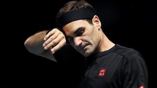 Berrettini ko con Federer: la fotogallery