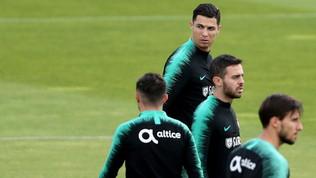 Portogallo: Cristiano Ronaldo si è allenato regolarmente