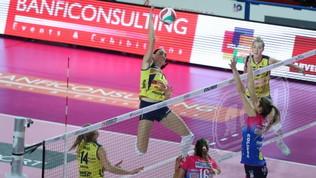 Volley, Serie A1 femminile: Conegliano e Novara ok in trasferta, battute Cuneo e Caserta