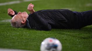 Manda ko il tecnico avversario, sette turni ad Abrahamdell'Eintracht