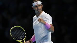 Tennis, Atp Finals: rimonta super di Nadal su Medvedev