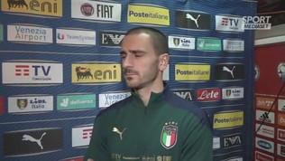 """Italia, Bonucci: """"Bosnia test difficile e importante"""""""