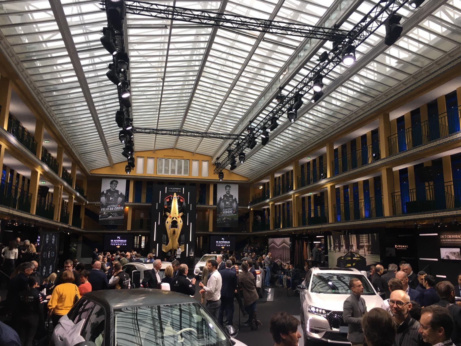 Evento show a Parigi con i piloti Vergne e Da Costa decisi a riconquistare il titolo elettrico<br /><br />