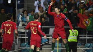 CR7  resuscita  col Portogallo e risponde a Sarri: 98 gol in Nazionale