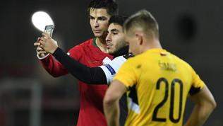 Ronaldo, il sosia in bianconero e un selfie da lacrime