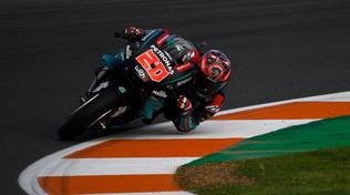 Quartararo è imprendibile, Rossi e le Ducati soffrono
